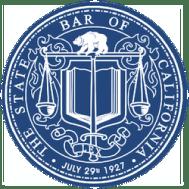 State Bar of California badge